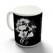Beethoven bögre