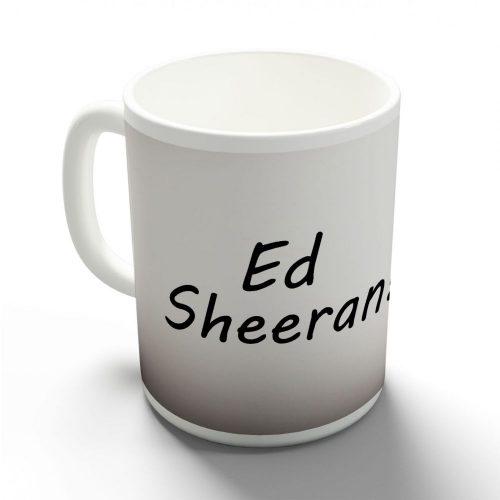Ed Sheeran bögre