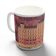 Grand Budapest Hotel bögre
