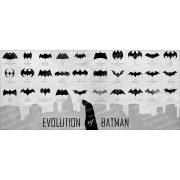 Batman - Emblémák bögre
