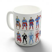Superman - Fejlődéstörténet bögre