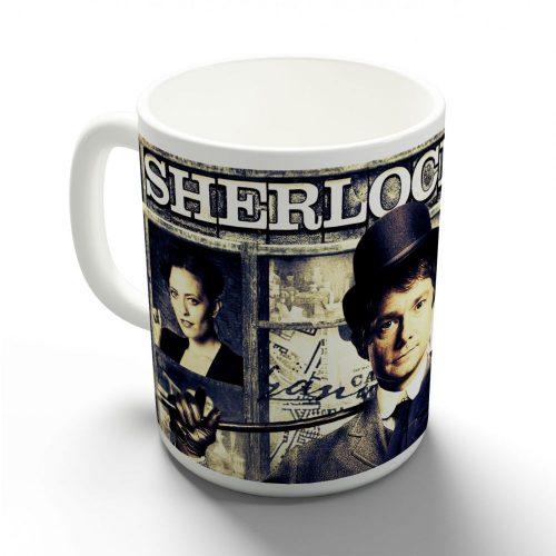 Sherlock bögre