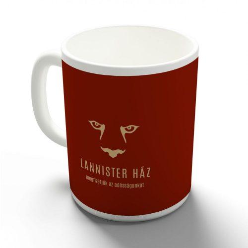 Lannister ház bögre