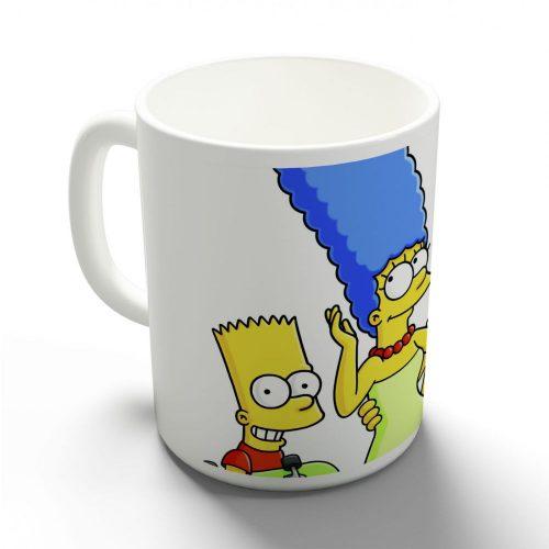 Simpsons bögre