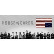 Kártyavár - House of Cards bögre