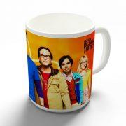 Agymenők - Big Bang Theory bögre