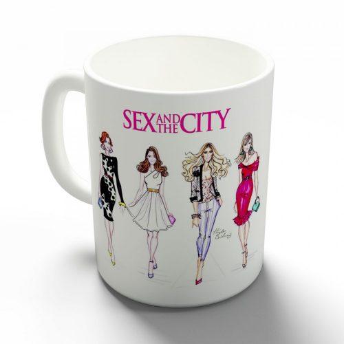 Szex és New York bögre