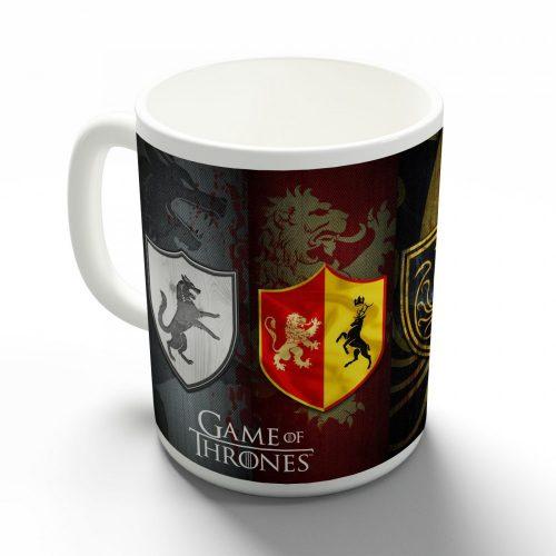Game of Thrones pajzsok bögre