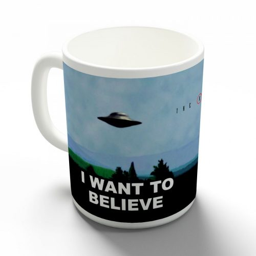 X akták i want to believe bögre