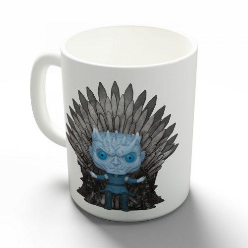 Trónok Harca (Game of Thrones) Éjkirály bögre