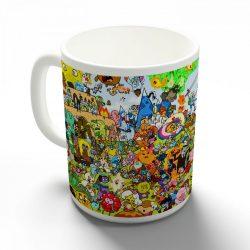 Adventure Time - Kalandra Fel! bögre