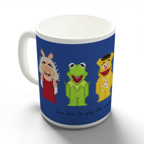 Muppet show pixel bögre