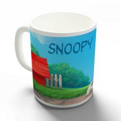 Snoopy és Charlie Brown bögre