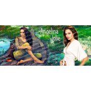 Angelina Jolie bögre