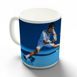 Novak Djokovic bögre