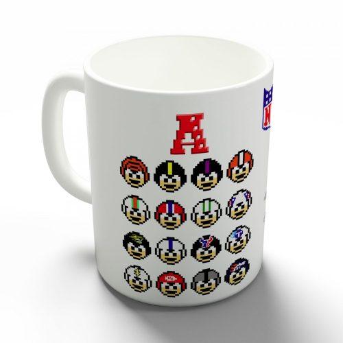 NFL pixelcsapatok bögre