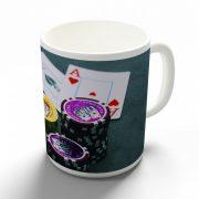 Póker - zsetonok bögre