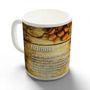 Kávérecept - Eszpresszó bögre