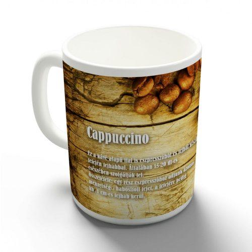Kávérecept - Cappucino bögre