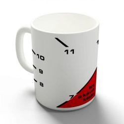 Itt a kávé ideje bögre