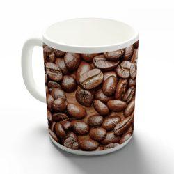 Kávészemek bögre