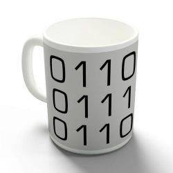Bináris apa bögre
