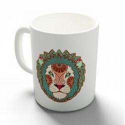 Az oroszlán tulajdonságai bögre