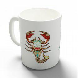 A skorpió tulajdonságai bögre