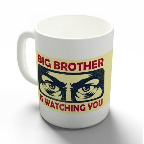 A nagy testvér figyel téged bögre