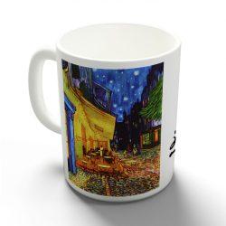 Van Gogh - Éjjeli kávézó bögre
