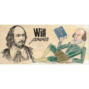 William Shakespeare bögre
