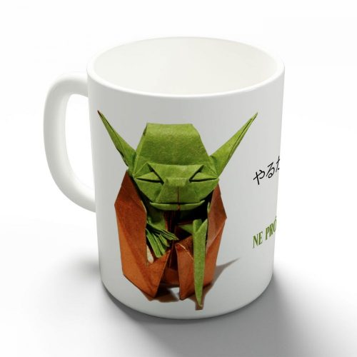Origami Yoda bögre