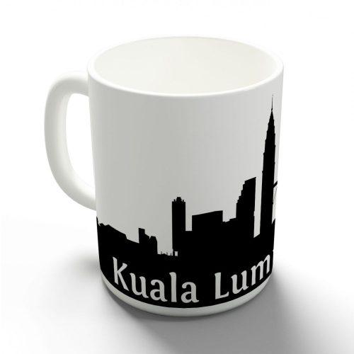 Kuala Lumpur SkyLine bögre