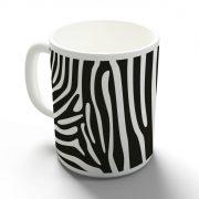 Zebra bögre