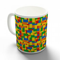 Lego mintás bögre