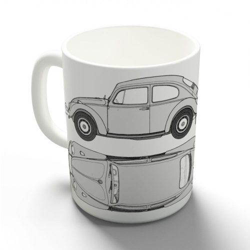 VW Bogár bögre