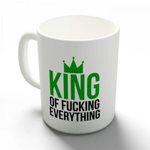 Őrült nagy király bögre