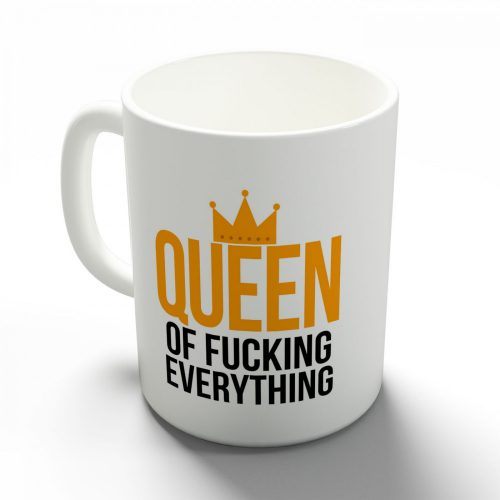 Őrült nagy királynő bögre