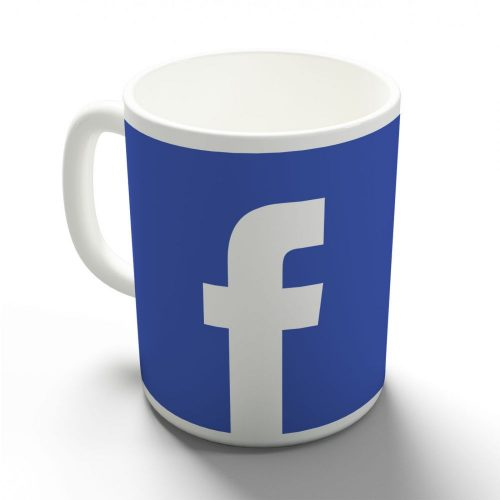 Facebook egyedi bögre