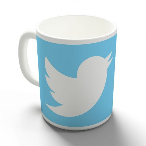Twitter egyedi bögre