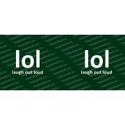 Laugh out Loud bögre több színben