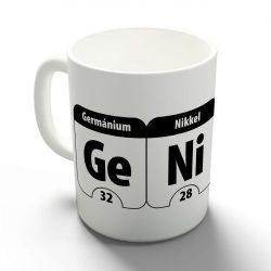 Germánium, Nikkel, Urán, Kén bögre