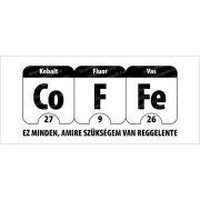 Kobalt, Fluor, Vas bögre