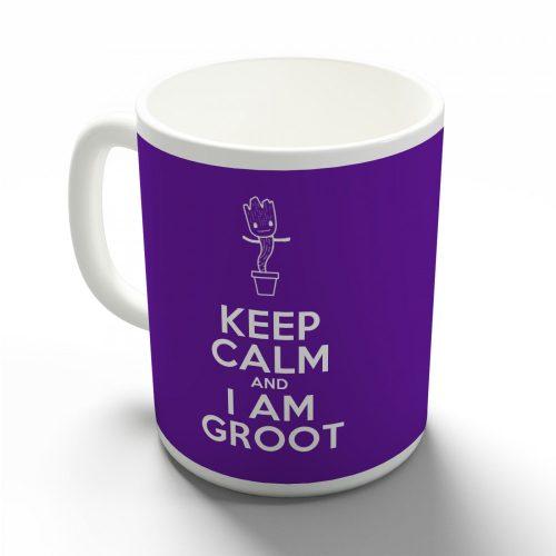 Keep Calm and I am Groot bögre több színben