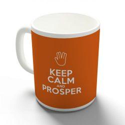 Keep Calm and Prosper bögre több színben