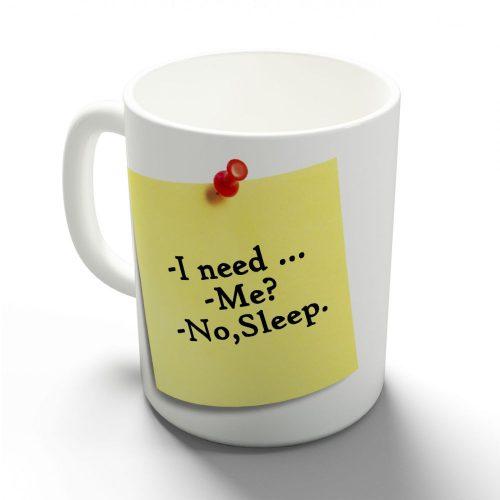 Inkább az alvás! bögre
