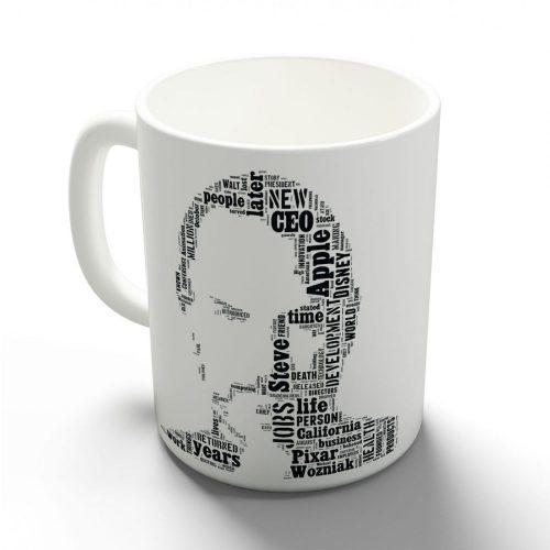 Steve Jobs bögre