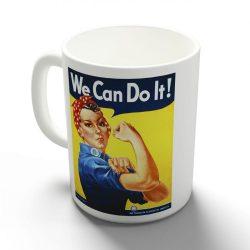 We can do it! bögre