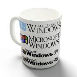 Windows logók bögre