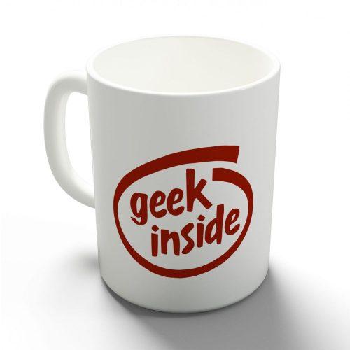Geek inside bögre